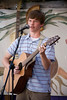 americana project student tanner smith performing at the 2009 sisters folk